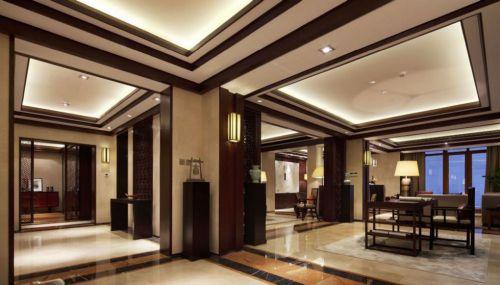 中式风格别墅餐厅装修案例