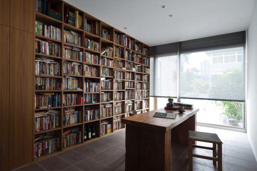 中式风格书房设计效果图