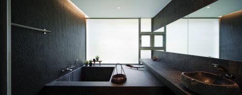 灰色简约风格卫生间设计