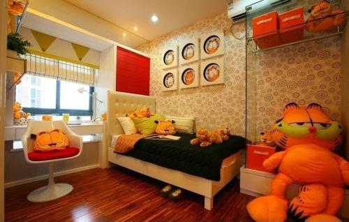 简约的温馨儿童房装修