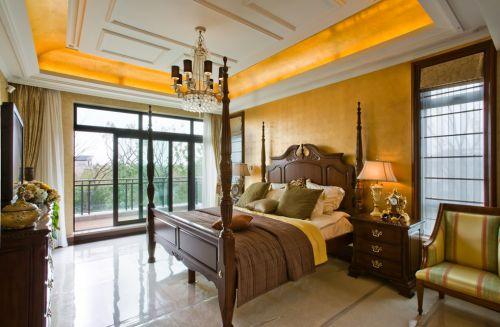 复古欧式风格卧室装修效果图