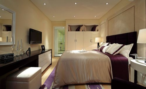 简约风格卧室入墙式衣柜
