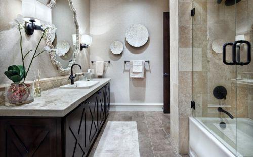 美式风格卫生间装修墙面设计