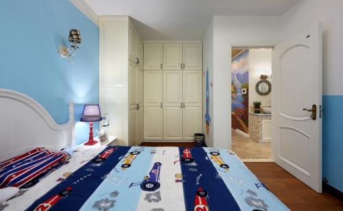 现代简约风格儿童房间设计