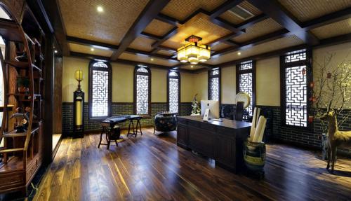 古色古香中式风韵书房设计