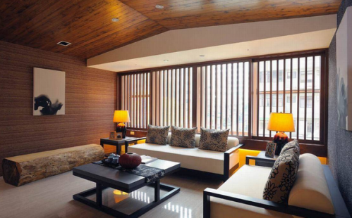 日式风格客厅装修效果图欣赏