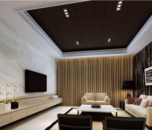 后现代主义风格客厅电视墙装修效果图