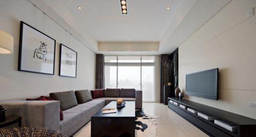 简约风格客厅电视背景墙图片欣赏大全
