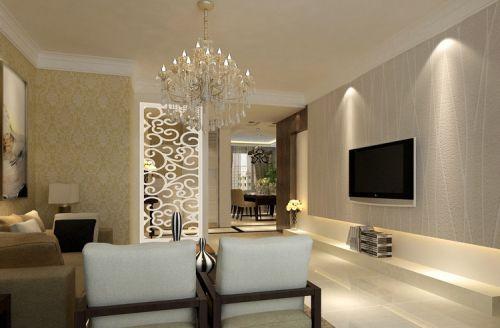 客厅电视背景墙装修效果图大全图欣赏