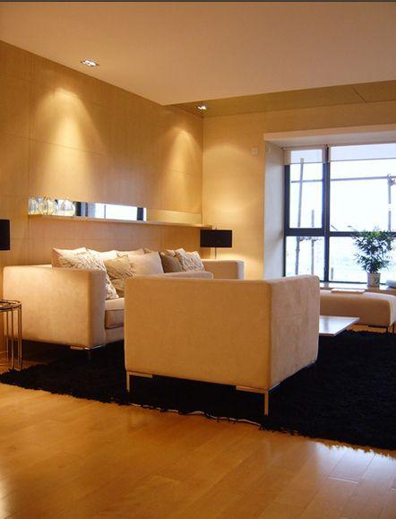 现代简约新家两室一厅现代简约客厅