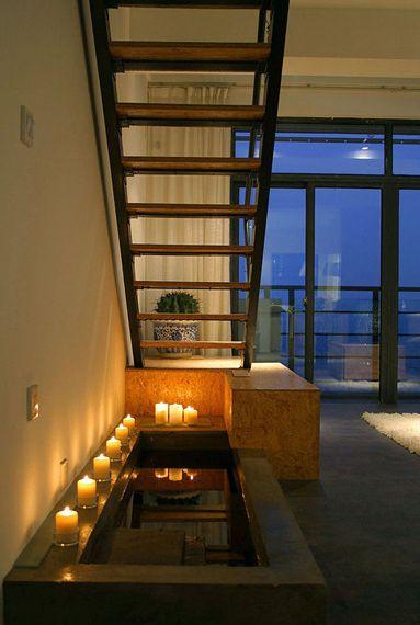 简约风格装修样例LOFT现代简约客厅