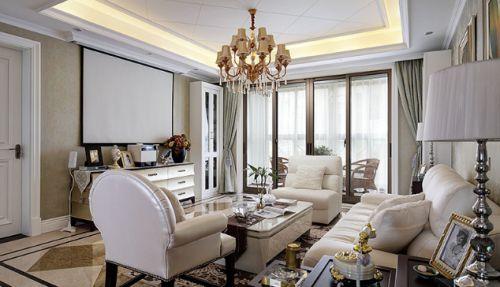 岁月沉静两室两厅现代简约客厅