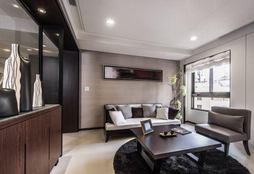 元素解构新人文概念四室两厅现代简约客厅