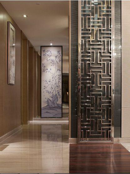 大气雅致居所三室两厅现代简约客厅