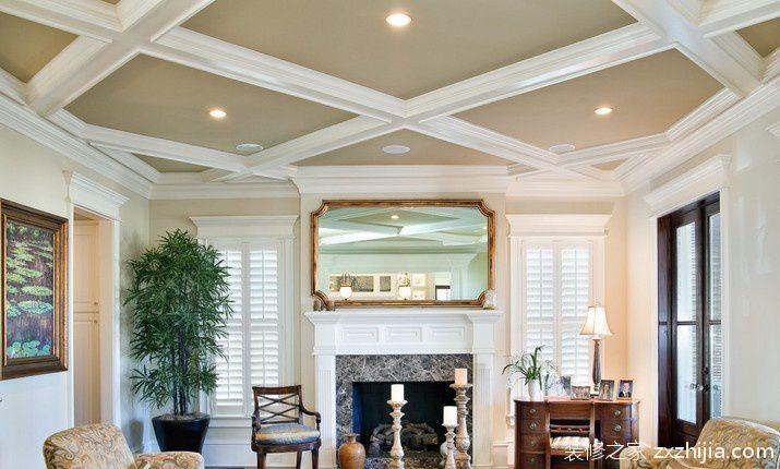 客厅吊顶灯装修效果图
