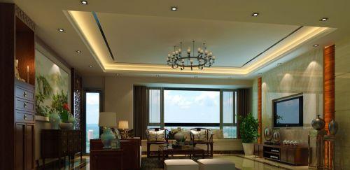 中式客厅清木家具设计效果图