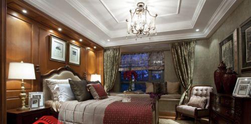古典欧式主卧室吊顶效果图图片