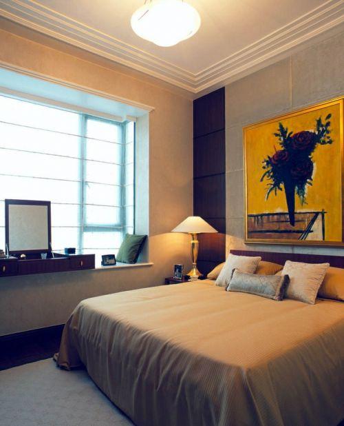 现代主人卧房装修风格图片