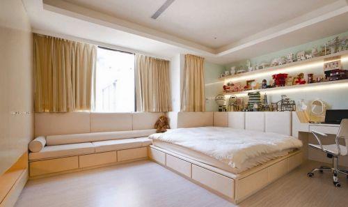 小卧室飘窗窗帘设计效果图