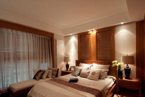 卧室飘窗帘装修效果图欣赏