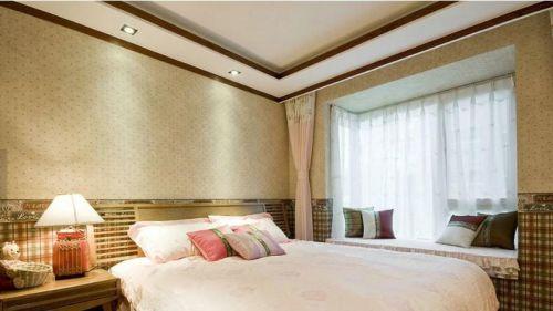 温馨家居卧室装修飘窗设计