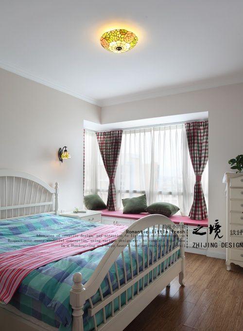 家居卧室飘窗装修效果图片