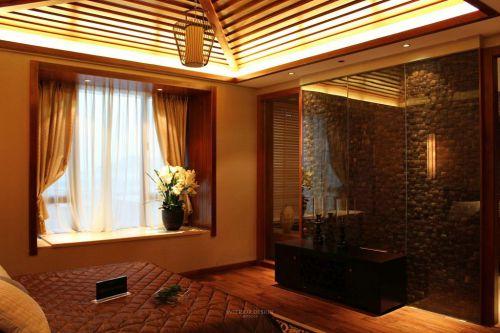 东南亚设计装修卧室飘窗欣赏