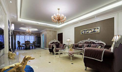 欧式66平米的女子浪漫窝客厅美图_装修之家装修效果图