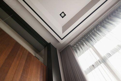 日禅静雅297平质韵宅复式日式客厅美图