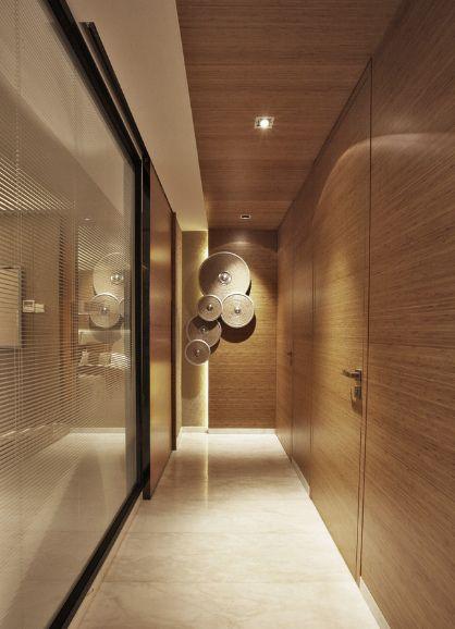 新日式风格样板房设计日式客厅装修效果图