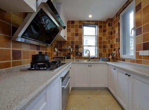美式设计厨房橱柜效果图大全