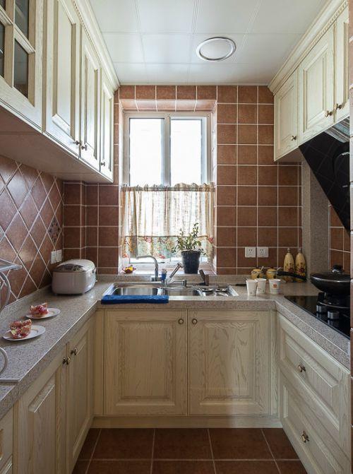 乡村风格小三居三室两厅美式乡村厨房美图