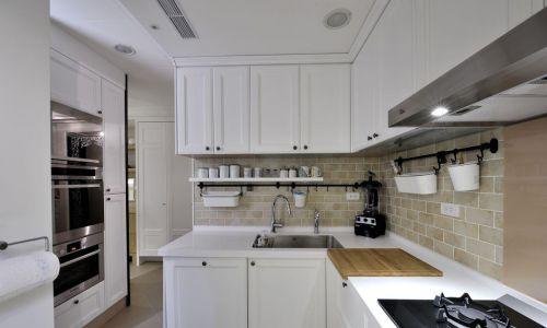 现代美式厨房装修效果图