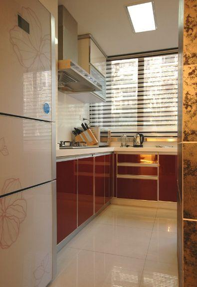 记忆变形线复式日式厨房装修效果图设计欣赏