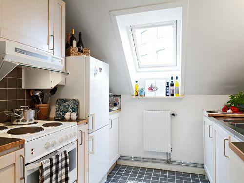 50平方米小戶型公寓 廚房櫥柜裝修效果圖