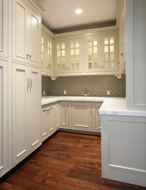 欧式小厨房整体橱柜装修效果图