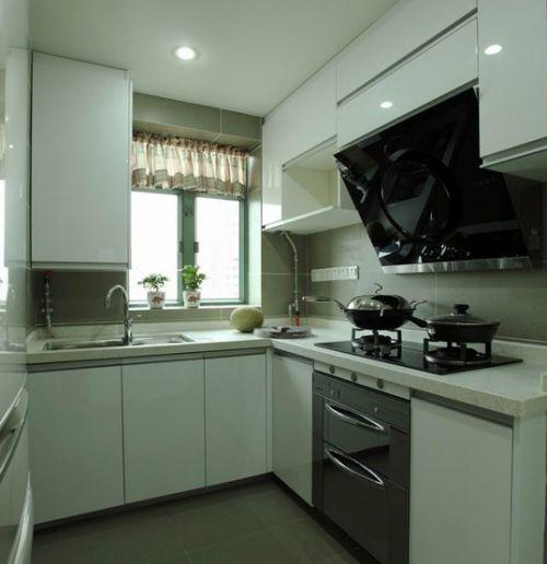 小厨房整体橱柜装修设计