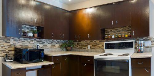 现代厨房整体橱柜效果图欣赏