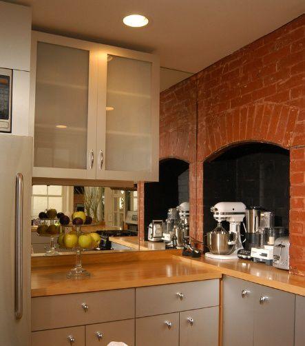 厨房金属橱柜效果图欣赏