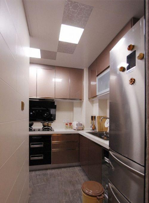 简约厨房集成吊顶装修效果图2015