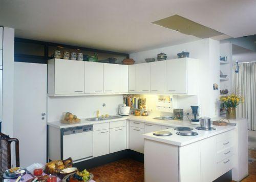 开放式厨房整体橱柜效果图图片