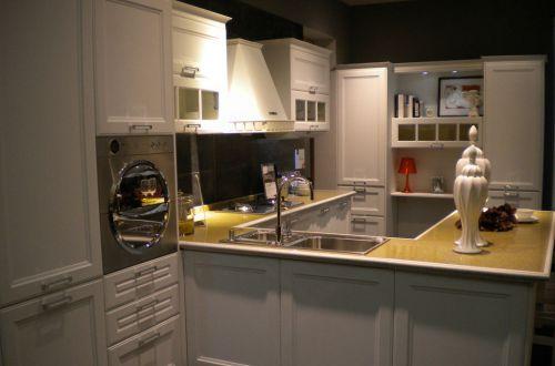 环形厨房橱柜装修效果