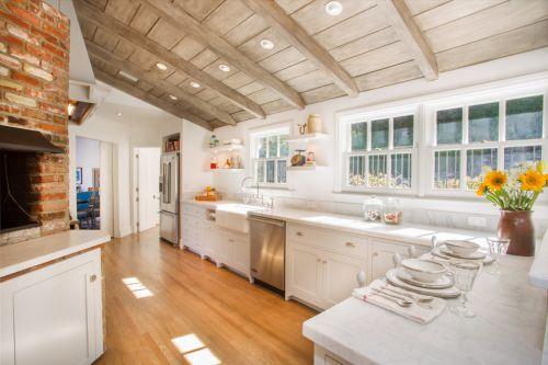 清新自然东南亚风格三室两厅地中海厨房美图