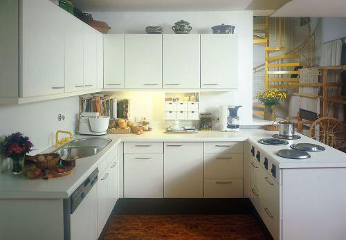 U型厨房橱柜图片大全