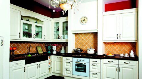 厨房欧式橱柜图片大全