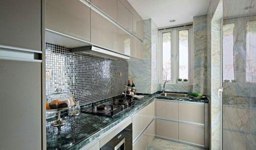 小厨房烤漆橱柜图片大全