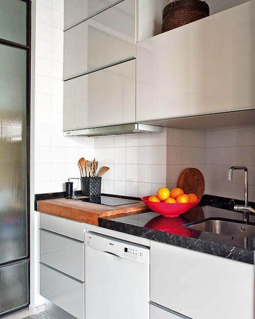 8万打造89平米现代简约厨房橱柜美图