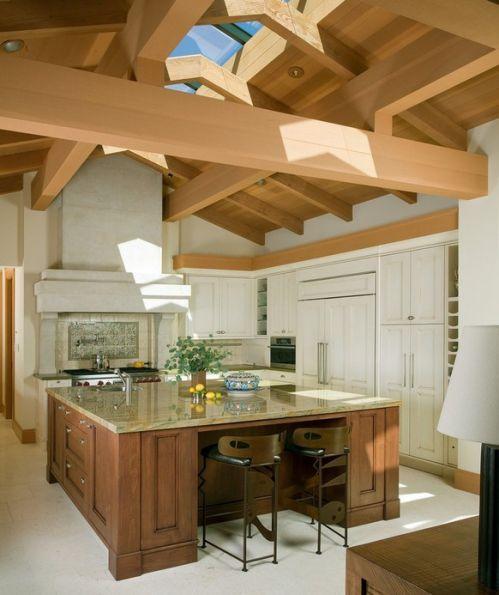 美式风格家具厨房吊顶装修效果图
