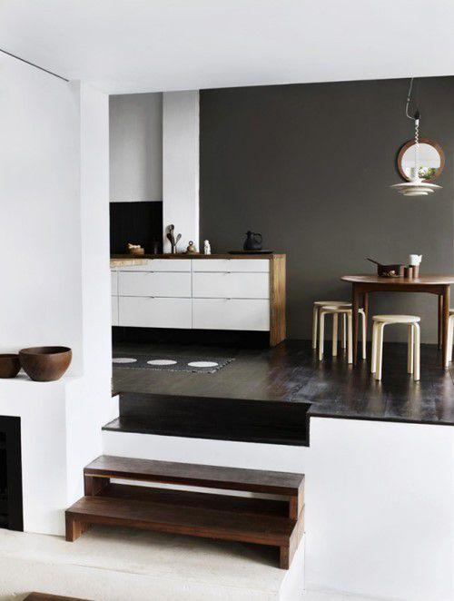 复式楼厨房橱柜装修效果图大全2015图片