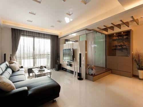 纳入现代元素的俐落两室两厅